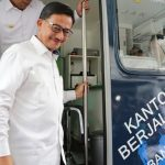 Menteri ATR/Kepala BPN Resmikan Kantor Pelayanan Berjalan BPN Kota Bandung