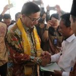 Menteri ATR/Kepala BPN Serahkan Sertifikat Tanah Hasil Program Legalisasi Aset Provinsi Babel