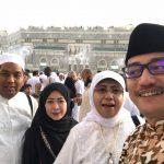Berbuka puasa bareng Kak Elly dan Bang Risman di Mekkah